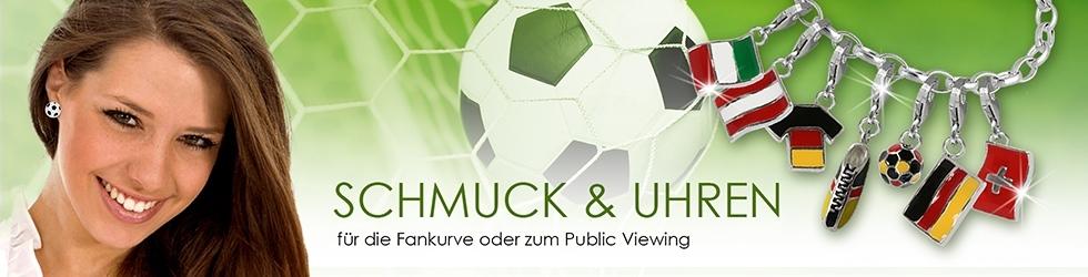 Schmuck und Uhren zum Fußball