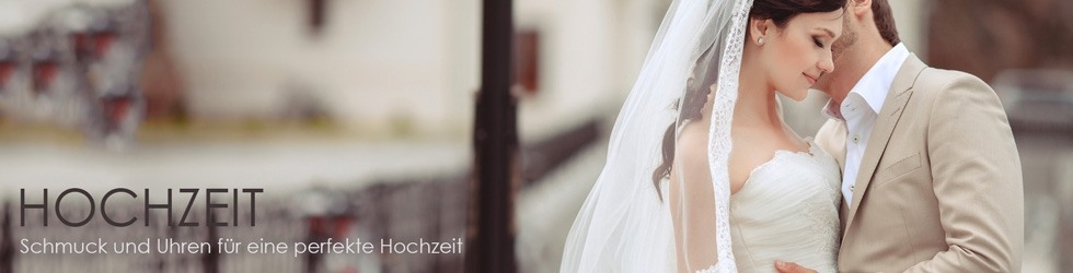 Schmuck und Uhren für eine perfekte Hochzeit