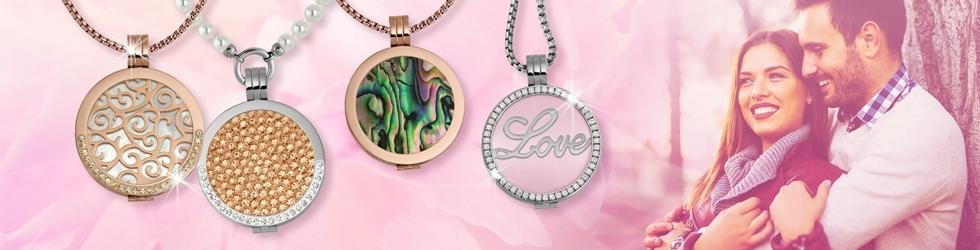 Coins Halsketten Valentinstagsgeschenk