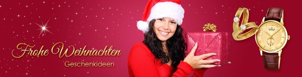 Imppac Weihnachten Ohrringe Gold Candino Uhr
