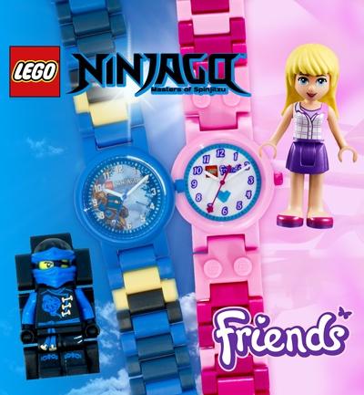 Kinderuhren von Lego