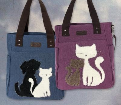 Manoro Katzen Tasche