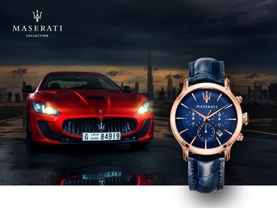 Herrenuhren von Maserati