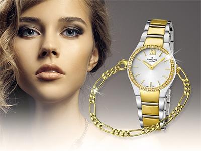 Uhren und Armbänder aus Gold