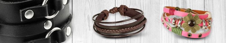 Lederschmuck Armband