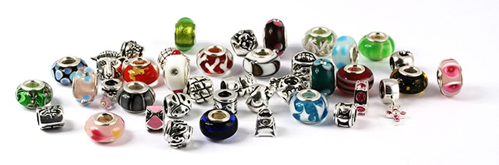 verschiedene Beads
