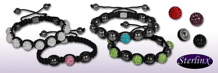 Shamballa Armbänder von Sterlinx