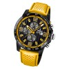 Festina Herren Armbanduhr Analog F20339/3 Quarz Leder gelb UF20339/3