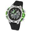 Calypso Herrenchronograph schwarz/grün Uhren Kollektion UK5586/3