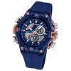 Calypso Herren-Armbanduhr Multifunktion analog/digital Quarz PU blau UK5586/5