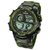 Calypso Armbanduhr Herren Digital for Man K5723/2 Quarzuhr schwarz grün UK5723/2
