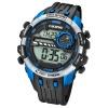 Calypso Armbanduhr Herren Digital for Man K5729/3 Quarz PU schwarz blau UK5729/3