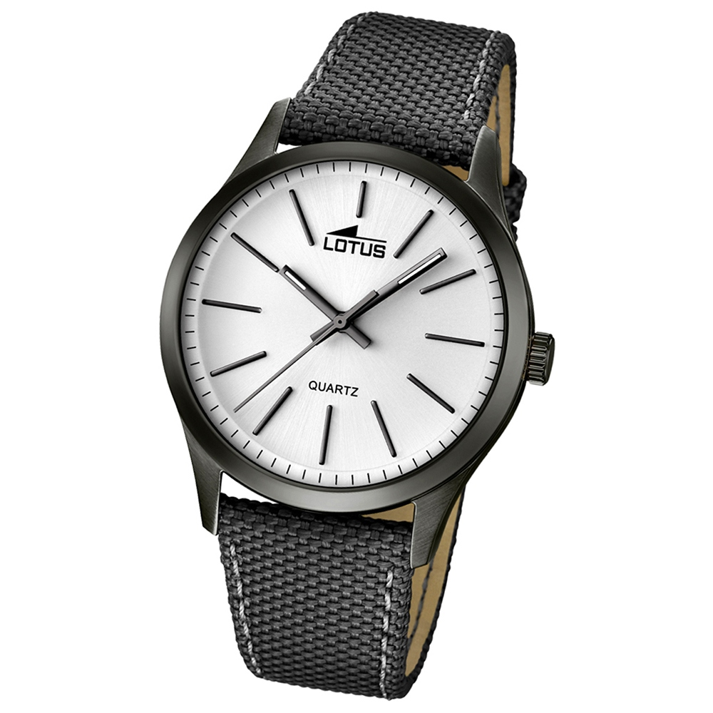 Montre lotus hommes montre minimaliste analogue quartz for Mouvement minimaliste