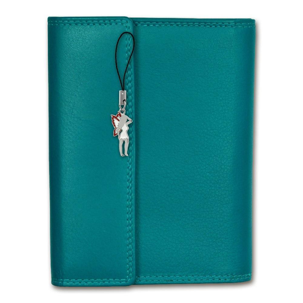 Portemonnaie Leder blau große Brieftasche Geldbörse XL Ausweisetui ...