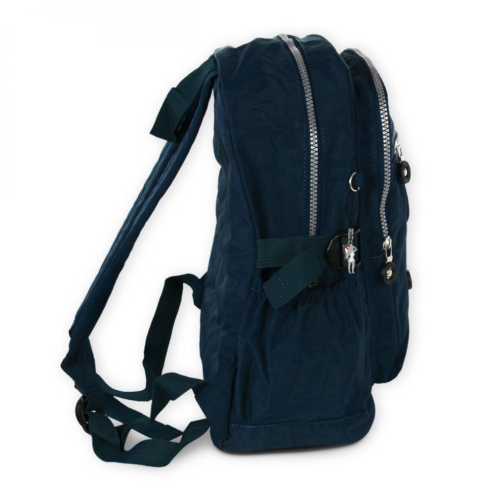sac dos sac main nylon bleu femmes sac a dos de ville. Black Bedroom Furniture Sets. Home Design Ideas