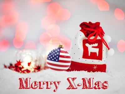 Weihnachten ist ein Familienfest in den USA
