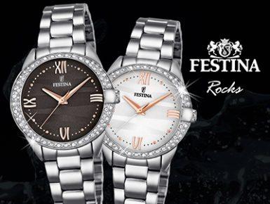 Festina Rocks - Glänzende Damenuhren