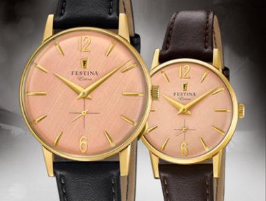 EXTRAordinary Festina - Klassische Uhren für Damen und Herren