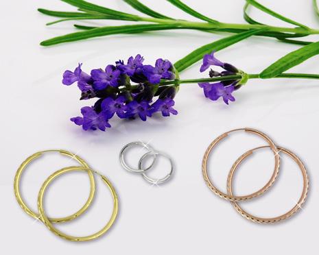 Creolen-Ohrringe gehören in jedes Schmuckkästchen