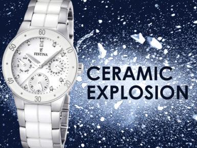 Festina - Ceramic Explosion, elegante Uhren für den Sommer-Look
