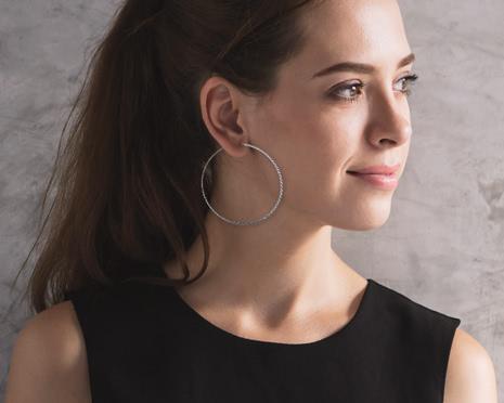 Hoop-Ohrringe sind der neue Trend