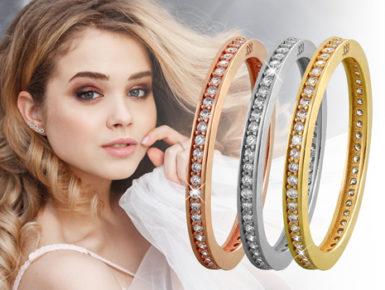 Strahlend schön: elegante Damenringe aus echtem 333er Gold