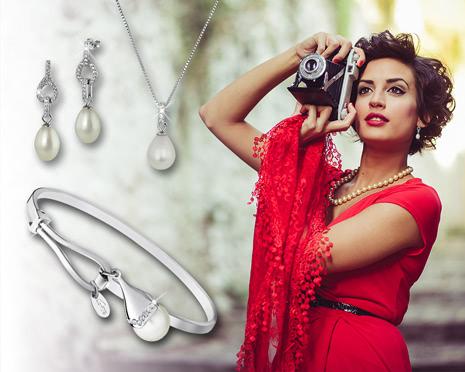 Perlen im Barock-Stil sind jetzt der absolute Trend