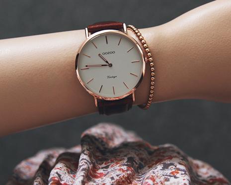 Oozoo: schlichte Vintage Uhren zum kleinen Preis