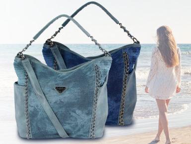 Sommerliche Handtaschen-Trends: Denim, Leder und Canvas