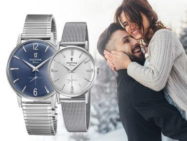 Stilvolle Pärchen-Uhren zum Verlieben - und Verschenken