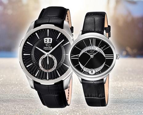 Extravagante Uhren von Jaguar für Damen und Herren