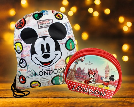 Robin Ruth Accessoires mit Mickey Mouse und Minnie Mouse