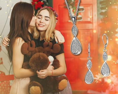 Elegante Schmuck-Sets von SilberDream - das perfekte Weihnachtsgeschenk