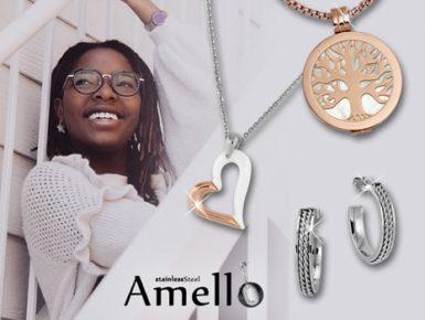 Amello - vielseitiger Damenschmuck aus Edelstahl