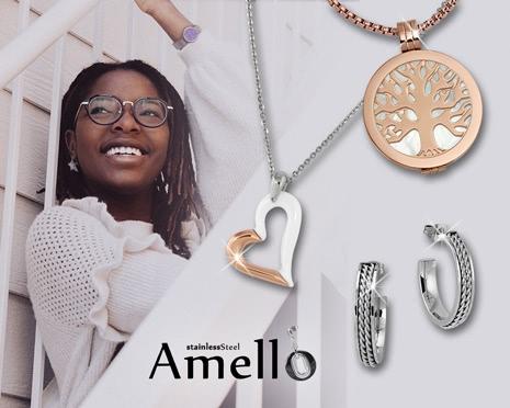 Amello Damenschmuck aus Edelstahl