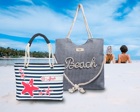 Modische Strandtaschen von Robin Ruth