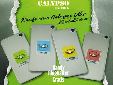 Uhren von Calypso - mit gratis Handyhalterung!