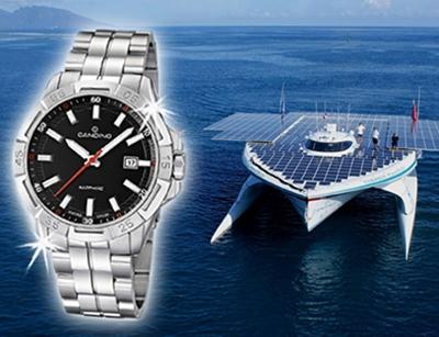 Uhrenhersteller Candino fördert Nachhaltigkeit